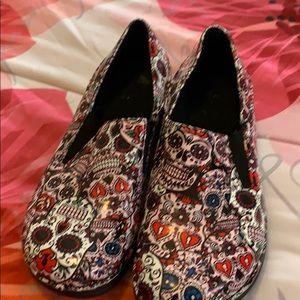 Sugar skull professional shoes